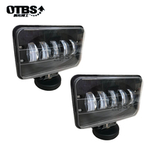 OTBS 6 дюймов 50 Вт Светодиодный прожектор рабочего света 12 В 24 в квадратный светильник для транспорта повышенной проходимости для внедорожников автомобиль пикап вагон Мотоцикл Грузовик