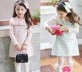 Meninas vestido de inverno crianças roupas de marca Girls Dress dos desenhos animados roupa dos miúdos para a princesa festa de casamento férias da criança do bebê