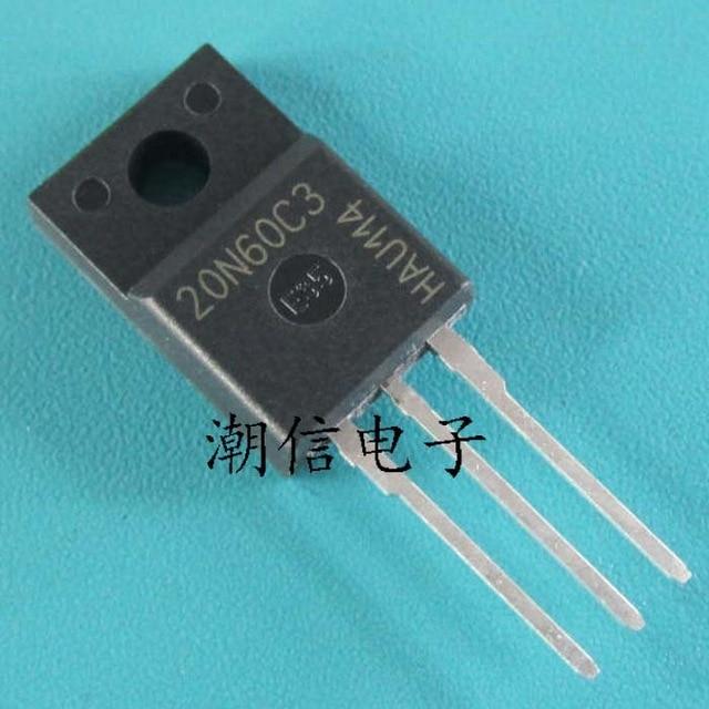 5pcs/lot SPA20N60C3 20N60C3 TO-220F 600V New Original In Stock