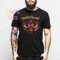 Sommer Hip Hop Motörhead 3d-druck T-shirt Männer Schädel Verbrechen stil O Hals Baumwolle T-shirt Rock Band Lustige Kurzarm Casual t-shirts