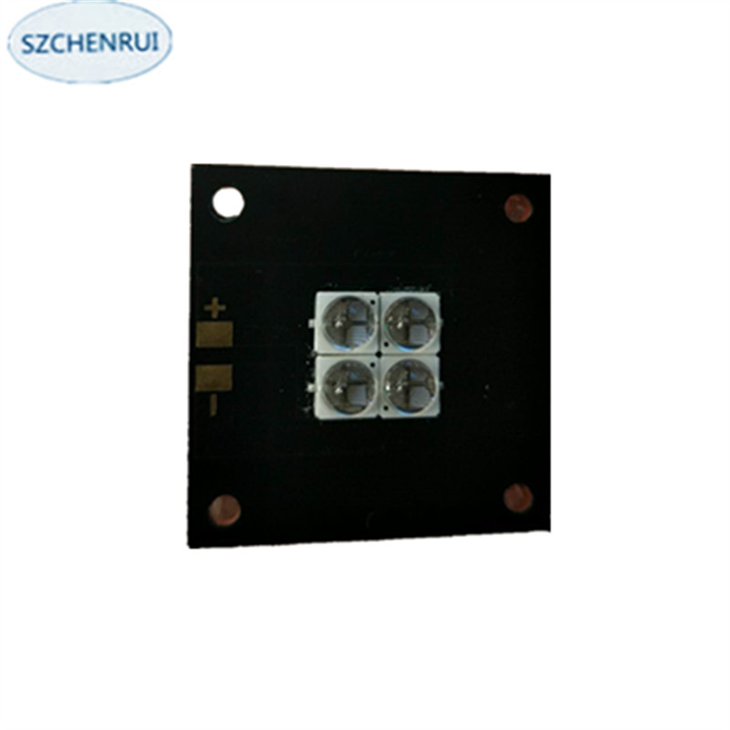 The New 40 watts high-power LED <font><b>UV</b></font> violet 6565 365nm 370nm 380nm 385nm 395nm 400nm 405nm 40*40mm board image