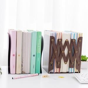 Image 4 - 1 Pcs La Libertà di Regolare Scaffale Grande Fermalibri In Metallo Desk Supporto Del Basamento Per I Libri Organizzatore di Cancelleria