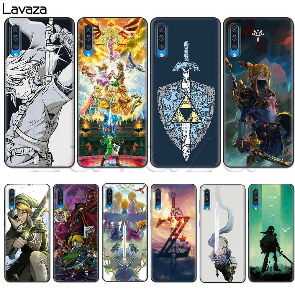 Lavaza The Legend of Zelda Soft Silicone Case for Samsung Galaxy A10S A20S A30S A40S A50S Note 10 Plus A70 M10 M20 M30