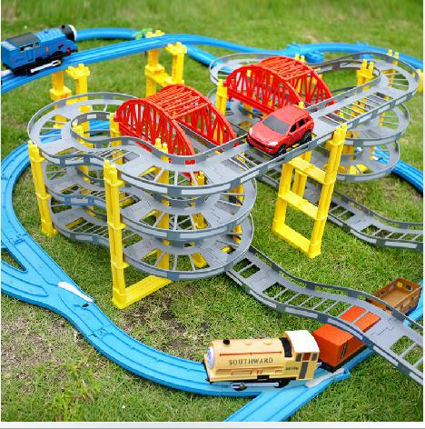 toy car track +thomas electric train Toy Train Set Tracks