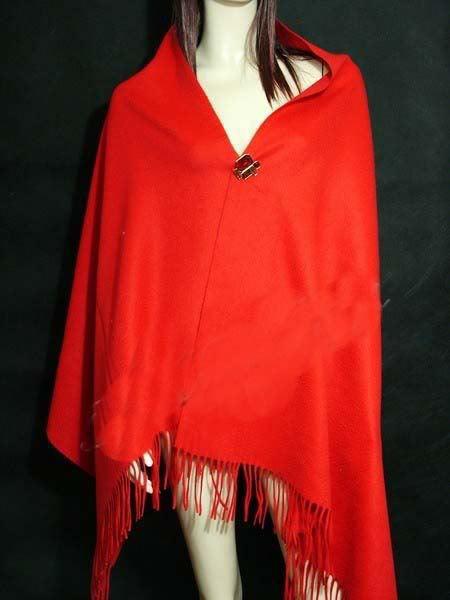 Зима Горячие Черный Для женщин шерстяная накидка Кашемир пашмины сплошной Цвет шарф шаль негабаритных 180*72 см - Цвет: red