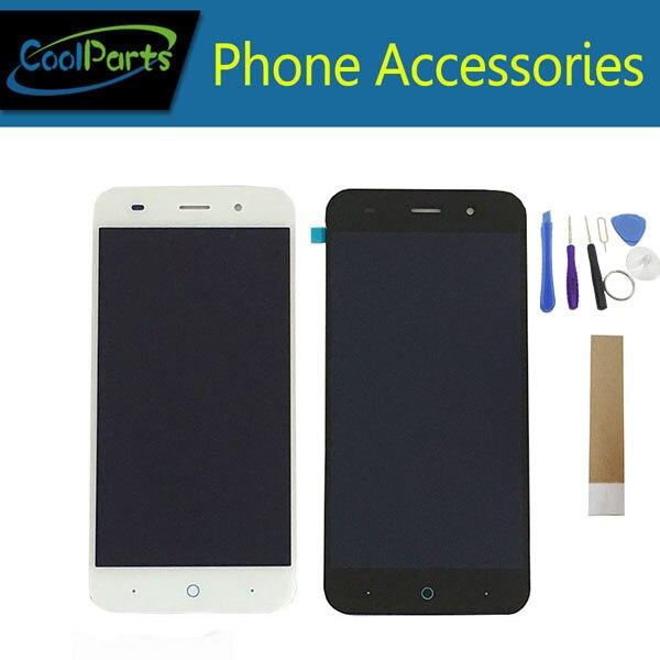 1 pc/Lot Pour ZTE Lame V6 X7 D6 Z7 T660 T663 LCD DIsplay + Écran Tactile Digitizer Assemblée Remplacement Noir blanc Couleur + Outil et Bande