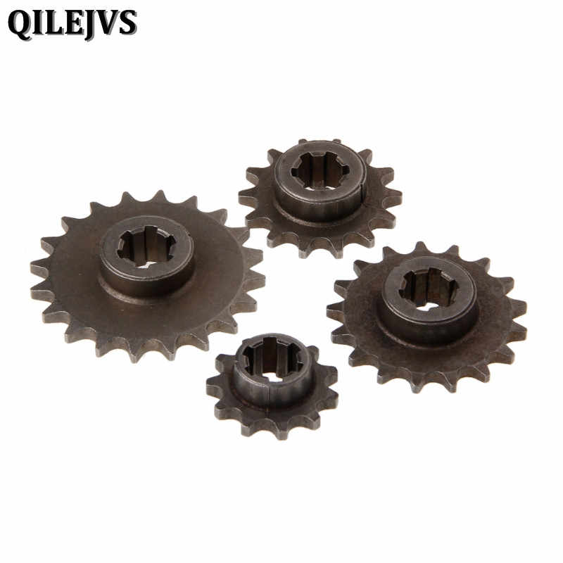 47cc 49cc Motorcycle Dirt Bike T8F 8mm 11 14 17 20 Tooth Front Pinion Sprocket Chain Cog Minimoto