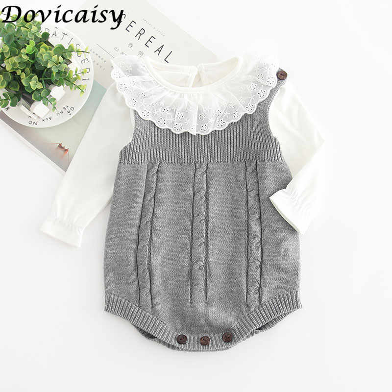 39011c91dbe60 INS Summer Knitted Rompers Newborn In Baby Girls' Rompers&Jumpsuit Vest Top  Tee Kids Boys Gray