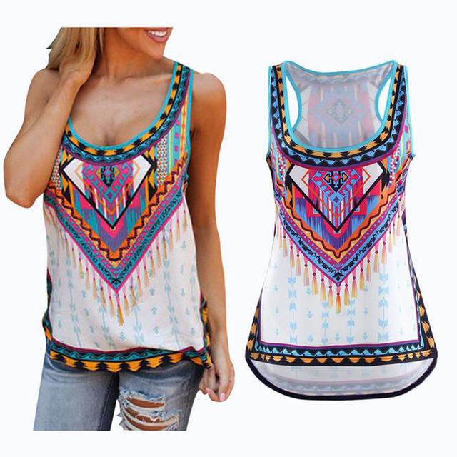 Women Summer Sleeveless T-shirt