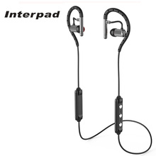 Interpad Bluetooh Earphone HIFI Sounds With Waterproof Ear Hook CSR8645 Headphones HD Stereo Earbud For Xiaomi huawei