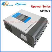 1000VA UPower inverter with charger hybrid Pure Sine Wave Inverter 12V/24V MPPT Solar charger controller Battery charger 24V