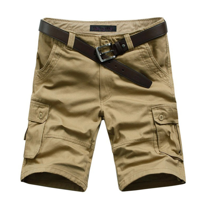 Plus size M-5XL 6XL 7XL 42 44 46 mens overalls fashion shorts for man bermuda loose casual cargo NEW 2014 summer trousers