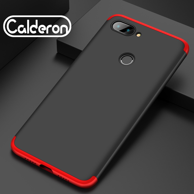 3 in 1 360 Full Cover Case for Xiaomi Mi 5s Max 2 Hard PC Shell Redmi Note 3 Pro Mi A1 2 5 6 8 SE Mix 2s Prime 8 Lite Fundas