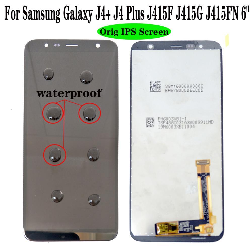 "Shyueda 100% Orig New 6"" For Samsung Galaxy J4+ J4 Plus j415 J415F J415G J415FN LCD Display Touch Screen Digitizer(China)"