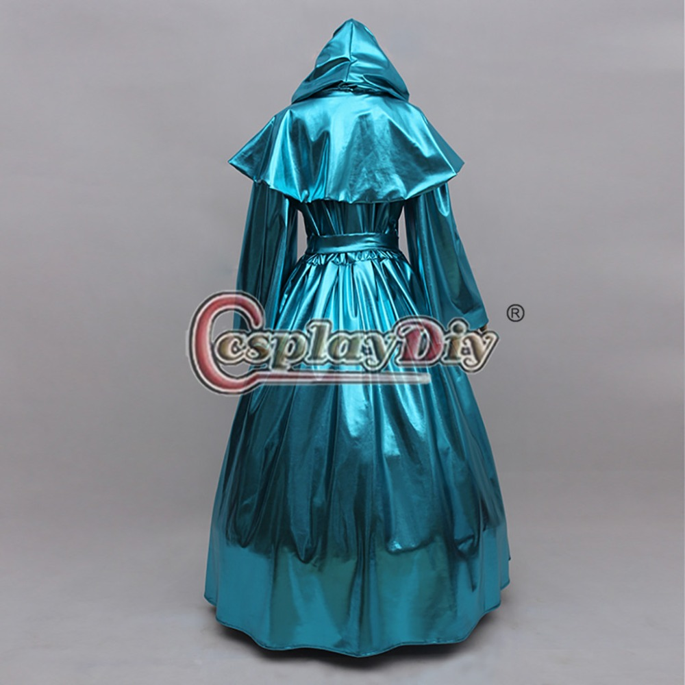 Image 3 - Cosplaydiy Custom Made Cinderella Fairy Godmother Cosplay Costume Dress Adult Princess Cinderella Dress L320-in Anime Costumes from Novelty & Special Use
