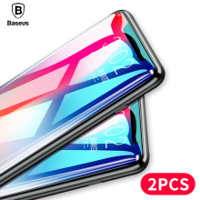 Baseus 2PCS Screen Protector Tempered Glass For iPhone X 10 Protective Film 0.3mm 9H Toughened iPhoneX Glasses