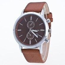 Mens Relógios de mujer norte Br Luxo Casual Militar Quartz Sports relógio de Pulso Pulseira de Couro Relógio Masculino relógio relogio masculino