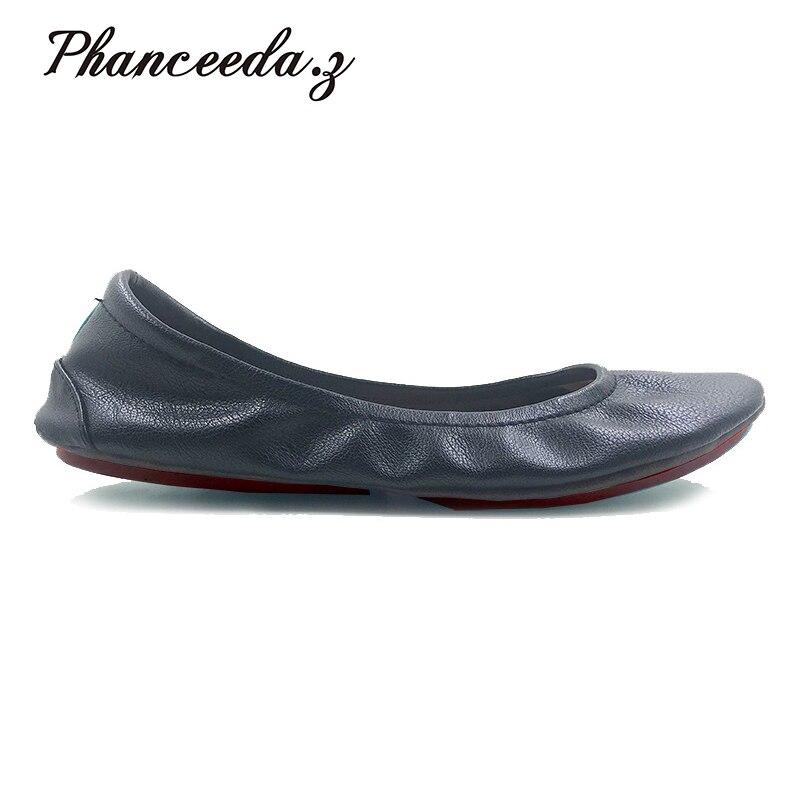 Neue 2018 Schuhe Frau Wohnungen Damen Schuhe Schuhe Für Frauen Top Casual Arbeit Müßiggänger Schuhe Hausschuhe Freies verschiffen Plus Größe 5-10