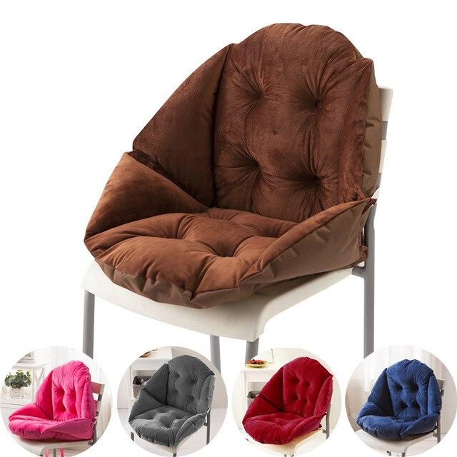 Home Decor Soft Lumbar Cushion Winter Office Bar Chair Seat Back Cushions Sofa Pillow PP cotton Fill Computer Chair Cushion B335