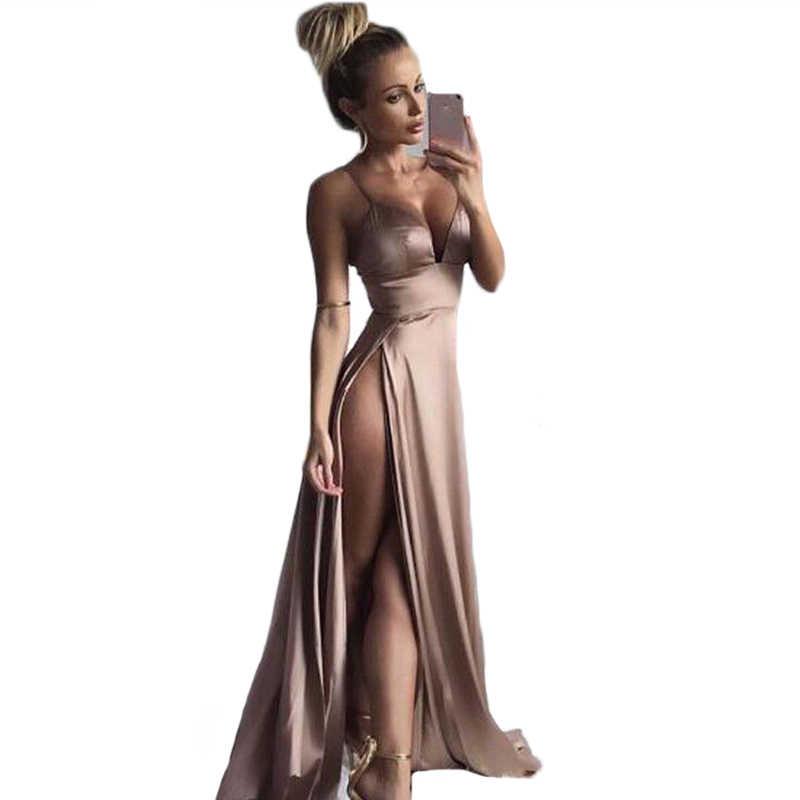 5e7d6c0039e43 Detail Feedback Questions about Women Sexy Maxi Long Dress Floor ...