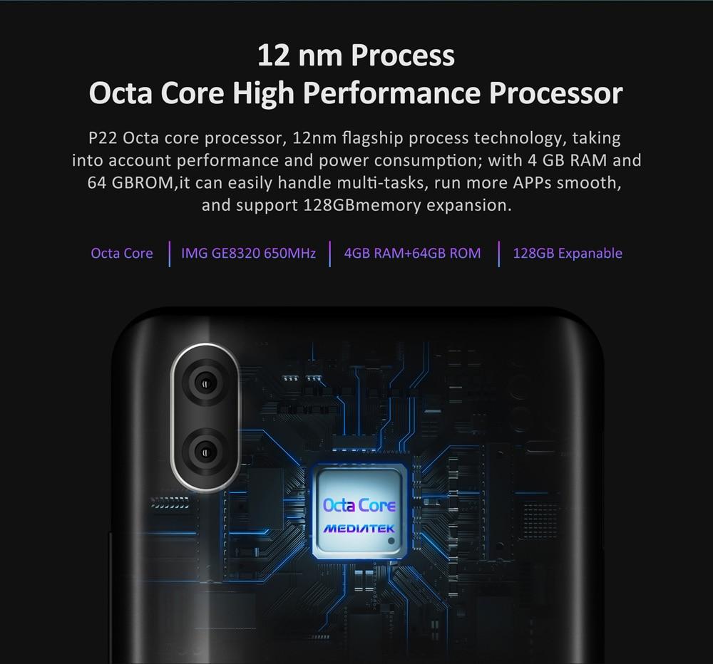 "HTB1iAYKXF67gK0jSZPfq6yhhFXaG LEAGOO S11 4GB 64GB Mobile Phone Android 9.0 6.3"" Waterdrop Display Helio P22 Octa Core 13MP Dual Camera Fingerprint Smartphone"