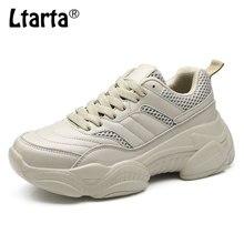 COWCOM Drop סתיו חורף 2019 נטו אדום נעלי נשים מאה לנשימה בתוספת קטיפה נעלי לבן נעלי CYL 657