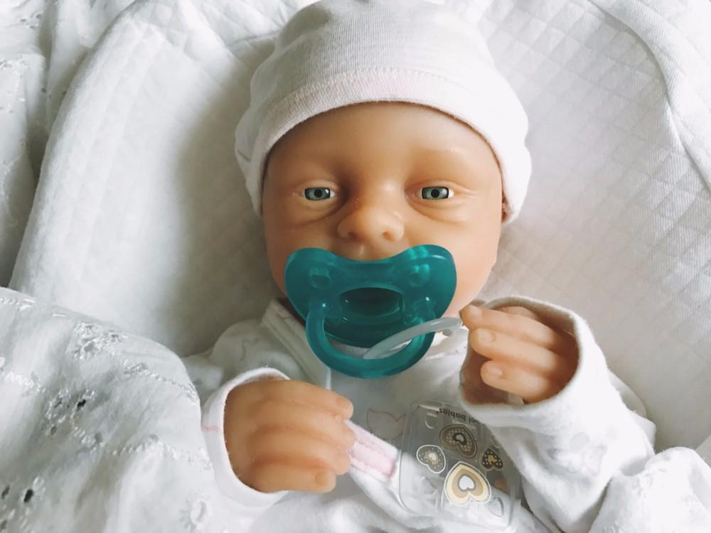 Ivita 21inch/4.9kg Girl High Quality Silicone Reborn Dolls Baby Born Full Body Alive Bath Doll XMAS Gift 16