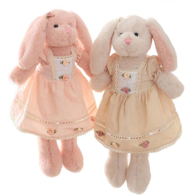 1/Pcs 40 cm Mini Kawaii Conejo De Peluche Juguetes Para Niños de Regalos Brinquedos Peluches de Dormir Suave Juguete de Peluche de Felpa animales Juguetes