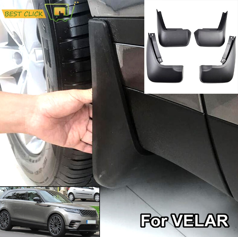 OE Styled Set Molded Car Mud Flaps For Range Rover Velar 2017 2018 2019 Mudflaps Splash