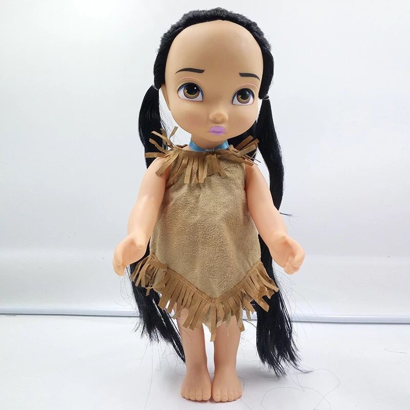 1pieces/lot 39cm pvc ariel belle tangeled belle The princess Snow White More style doll girs ltoys play house Christmas gift