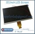 Original e nova 10.1 polegada pin LCD T10140B-A3 WD T10140B 1024 x 600 para tablet pc frete grátis