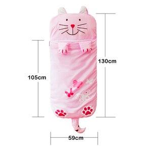 Image 5 - קריקטורה בעלי החיים דוגמנות כותנה תינוק שק שינה חורף לפעוטות ילדה ילד ילד/ילדים חם שינה שקיות, גודל: 130*105cm,1 4 Yea