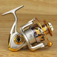 YUMOSHI Brand New Spinning Fishing Reel 5 5 1 Fishing Tackle Pesca Reel Feeder Carp Fishing