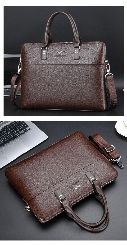 HTB1iA Wdgb.PuJjSZFpq6zuFpXaN TIANHONGDAISHU Men Casual Briefcase Business Shoulder Leather Messenger Bags Computer Laptop Handbag Men's Travel Bags handbags