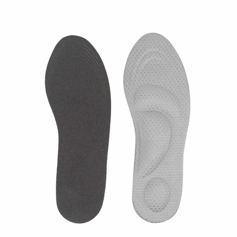 Düz ayak ortopedik ayakkabı tabanlığı kadınlar yüksek topuk Arch destek şok emici erkek ayakkabısı astarı taban pedi ekler yastık 4D