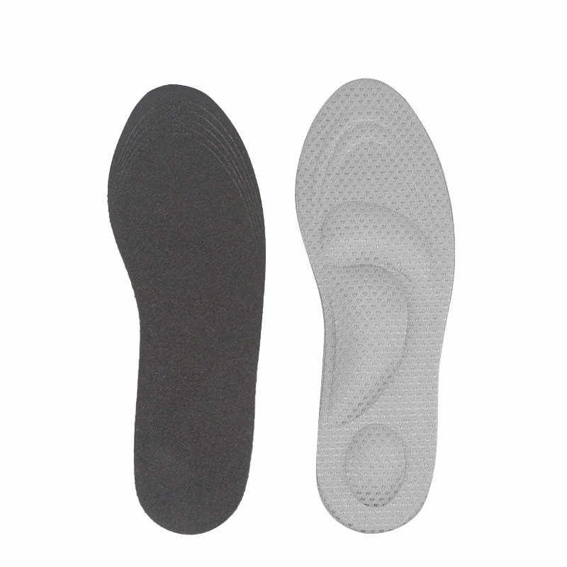 Flat Foot Orthopedic Insoles For Shoes Women High Heel Arch Support Shock Absorbing Men Shoe Insole Sole Pad Inserts Cushion 4D