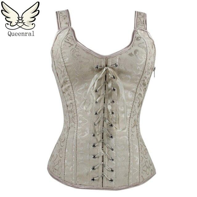burlesque corset  steampunk waist corsets women  bustiers Sexy Lingerie Female corset gothic clothing corselet Corsage
