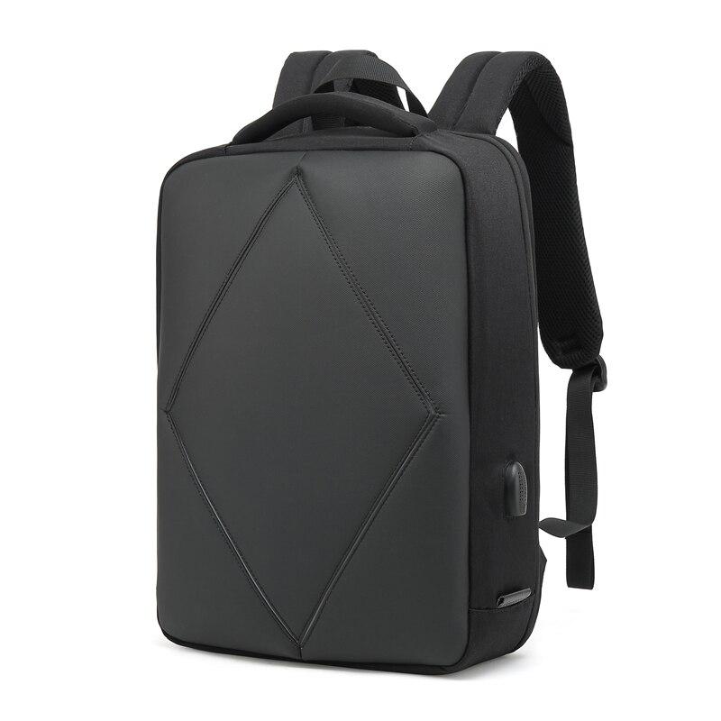 Mode hommes sacs à dos TSA locing sacs sûrs à la mode affaires Pack mâle de qualité supérieure brève nouvelle conception USB fort Polyester