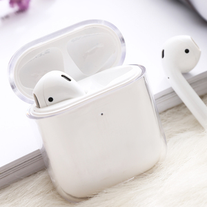 Image 5 - עבור אפל אוויר תרמילי טעינת אוזניות תיבת קשה שקוף אלחוטי Bluetooth אוזניות מקרה עבור Airpods מקרה
