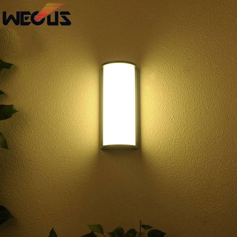Rectangle creative buitenverlichting outdoor led lighting balcony villa wall light waterproof walll lamps outside fixtures braRectangle creative buitenverlichting outdoor led lighting balcony villa wall light waterproof walll lamps outside fixtures bra