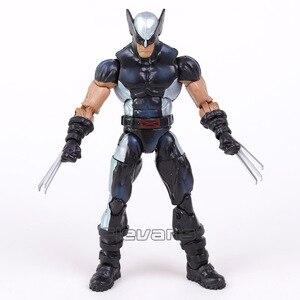 Image 2 - Original x men logan figura de ação de alta qualidade super herói deadpool pvc solto figura brinquedo 16cm