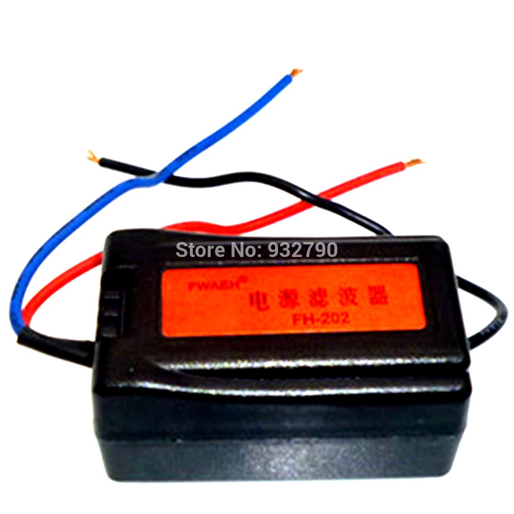 12V Auto Power Supply Remove Noise Interference Filter Car Power Supply Filter