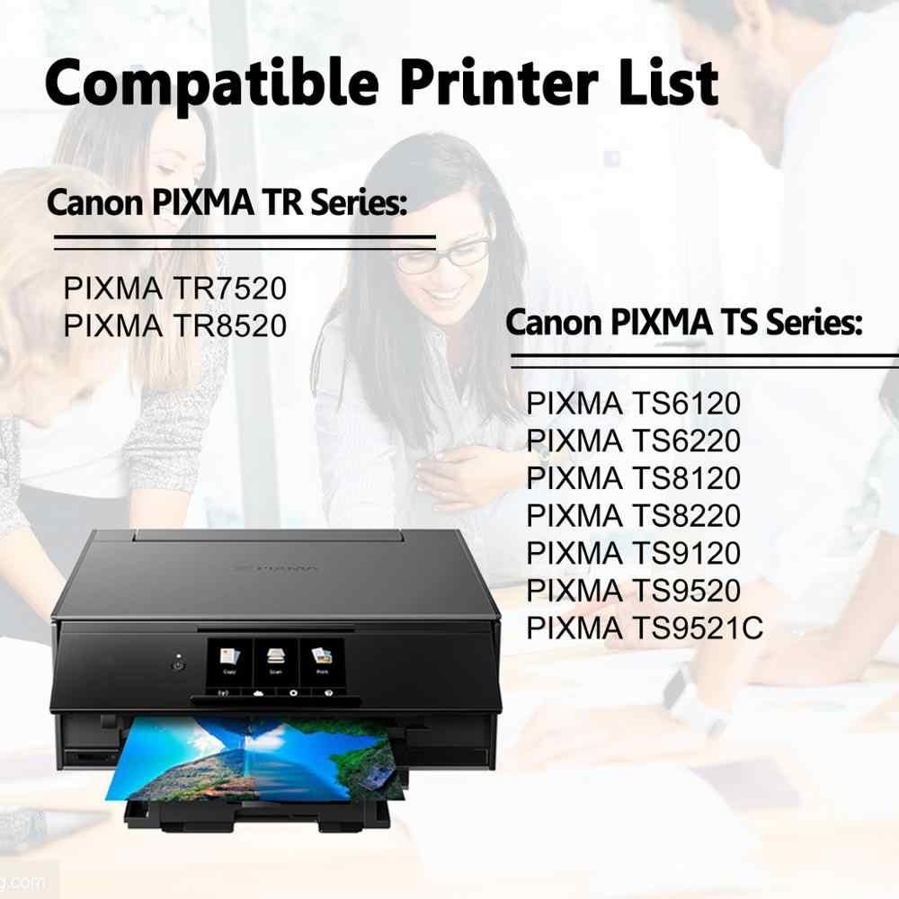 TS8320 LCL Compatible Ink Cartridge Replacement for Canon PGI-280 PGI-280XL PGI-280XXL CLI-281 CLI-281XL CLI-281XXL PIXMA TS8120 TS9120 TS8220 6-Pack PGBK Black Cyan Magenta Yellow Photo Blue