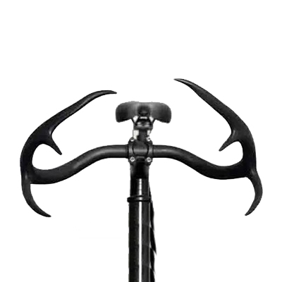 stag antler cycling handlebar alloy bullhorn deerhorn glass fiber road bicycle handle bars fixie Fixed Gear velo free shipping