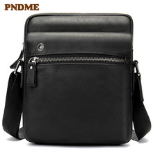 Men's business casual head layer cowhide bag men's single shoulder bag cross-body bag цена в Москве и Питере