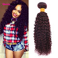 Queen Glamour 7A 99j Red Brazilian Kinky Curly Virgin Hair 1 Bundle Burgundy Brazilian Hair Weave Bundles Curly Hair Extensions