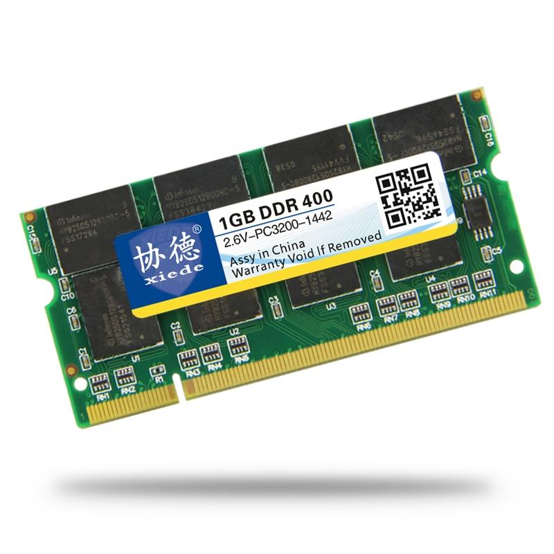 XieDe Memory Ram DDR 1GB para portátil Sodimm Memoria 400 Mhz 333MHz - Componentes informáticos - foto 2