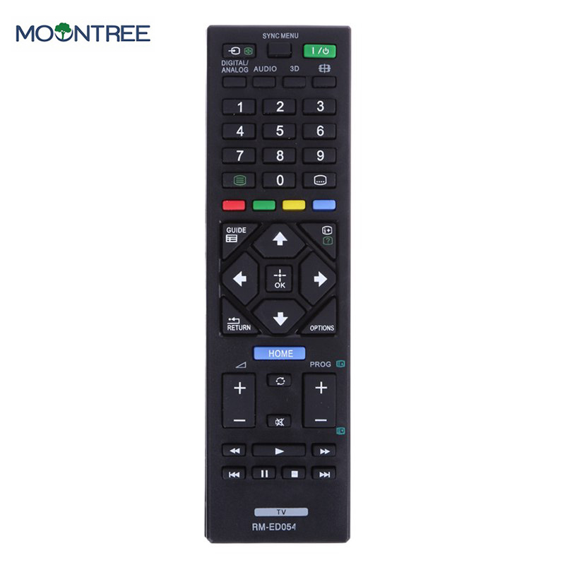 Universal Replacement Remote Control RM-ED054 For Sony LCD TV RM-ED062 KDL-32R420A KDL-40R470A KDL-46R470A New genuine hongdak rm s1am 1 2 lcd wired remote control camera timer for sony alpha dslr a100 more