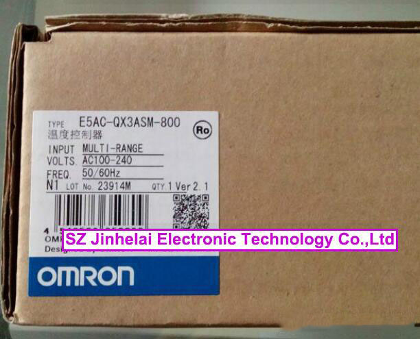 100% New and original  E5AC-QX3ASM-800  OMRON DIGITAL CONTROLLER  AC100-240V (Can replace E5AZ-Q3T) new and original e3x da11 s omron optical fiber amplifier photoelectric switch 12 24vdc