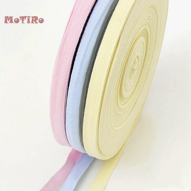 Motiro,1 Meter/lot,1cm,Ribbon Cotton Cloth with Hand-wrap Strip Edge Material of DIY Cotton Binding,Baby Jumpers,Bodysuit,Sheets